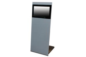 Admire - elegantes Infoterminal mit einem schlanken Gehäuse aus Aluminium