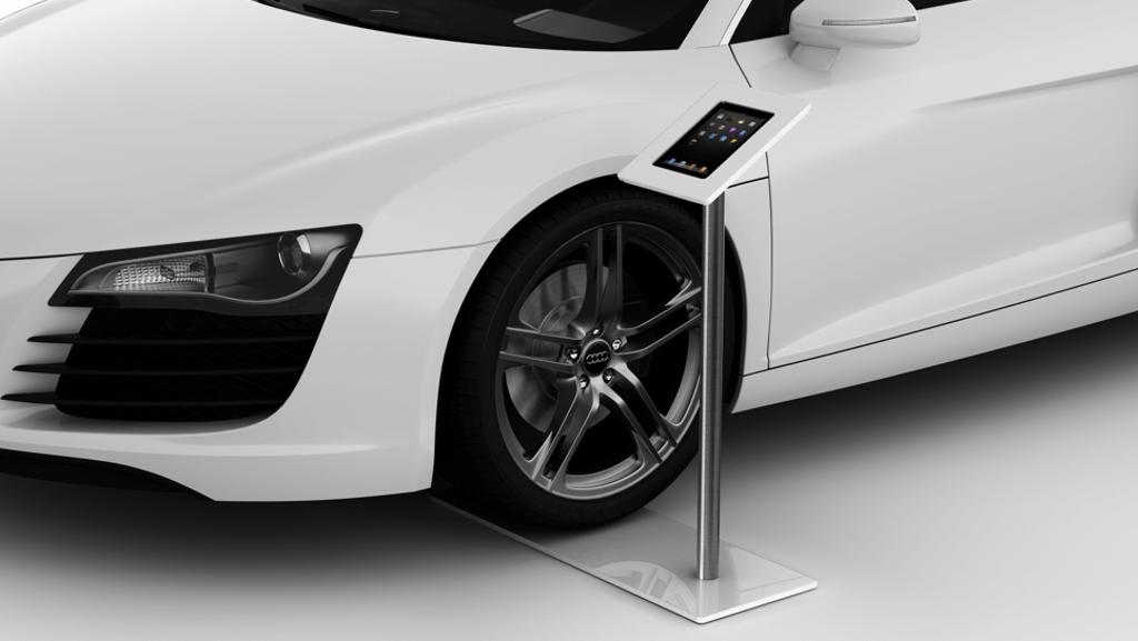 iTop Tablet Kiosk Autohaus