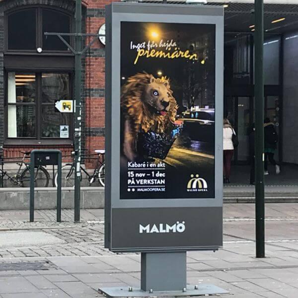 Outdoor Terminal maßgeschneiderte Kiosklösung