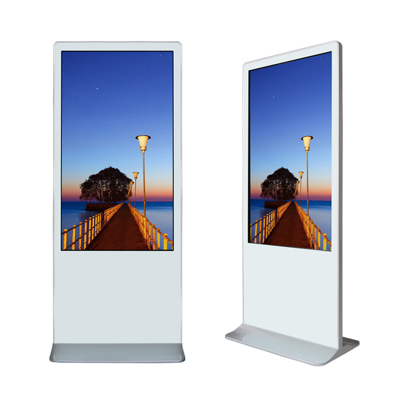 Supreme White - Digital Signage Stele